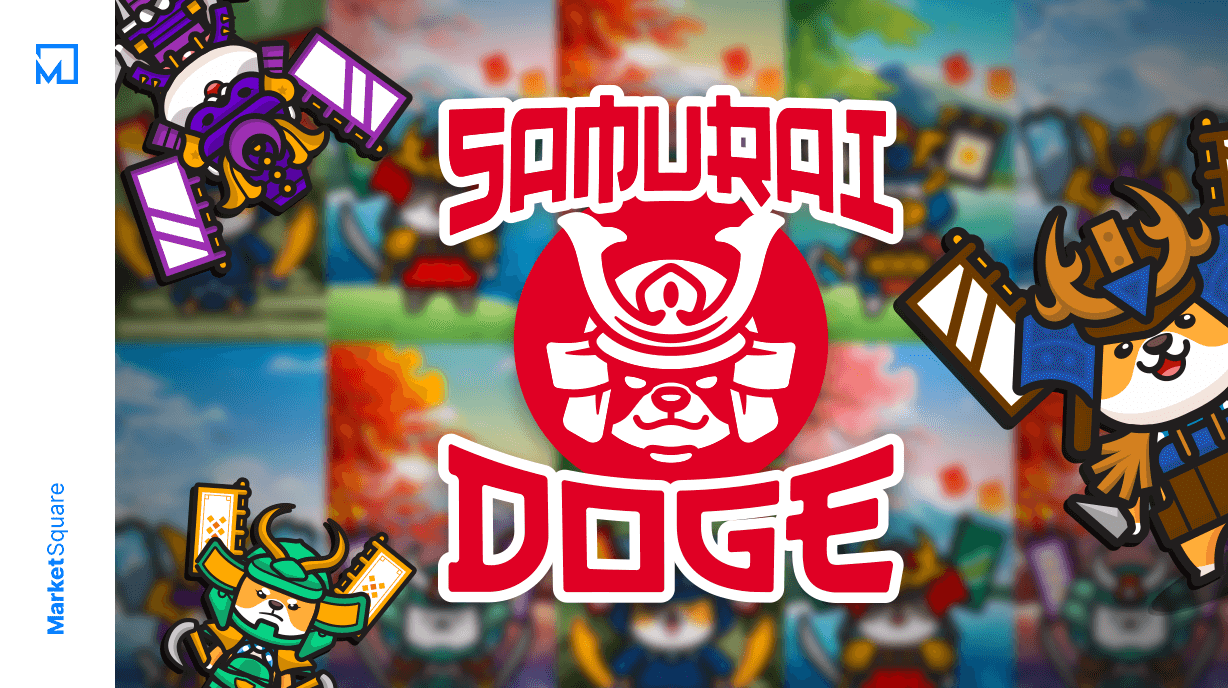 Discovery of the Day - Samurai Doge Banner