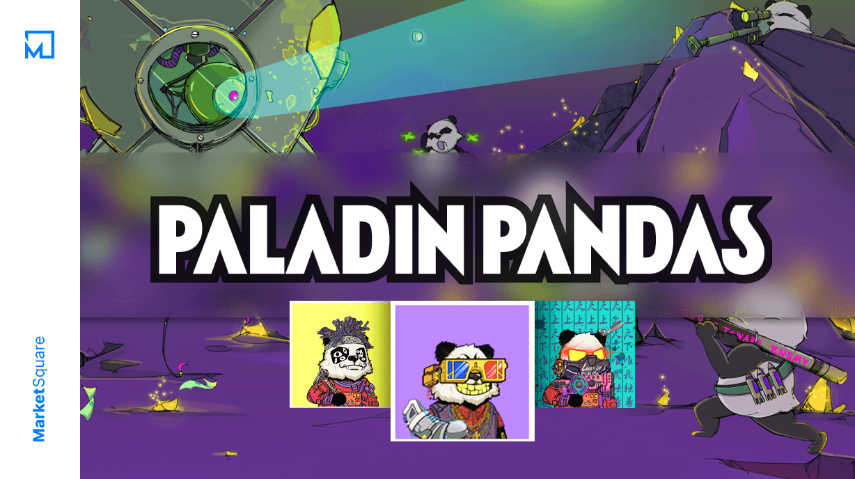Gamified NFT Panda-monium - Paladin Pandas Banner