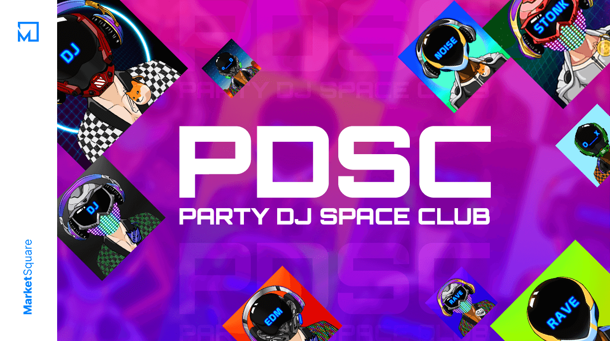 Sweeping the NFT Dancefloor with Party DJ Space Club! Banner