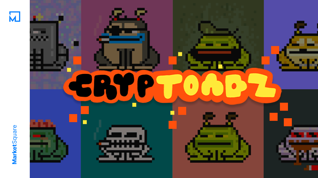 NFT Frogs with Attitude - CrypToadz by Gremplin Banner