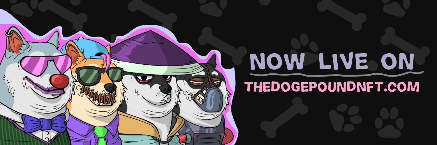 The Doge Pound - The Goodest NFTs Banner