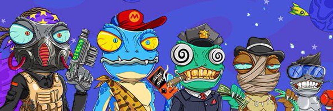 Crazy Lizard Army - Evolution in NFTs? Banner
