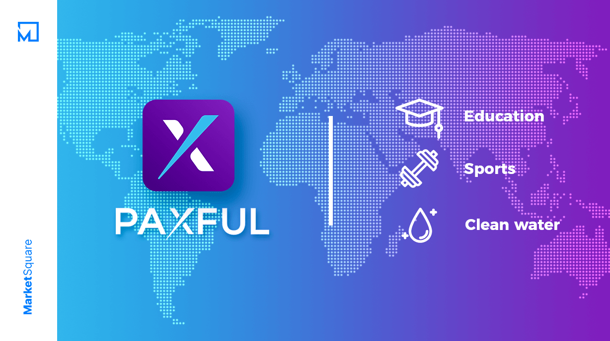 Paxful: Changing Lives in Africa Banner