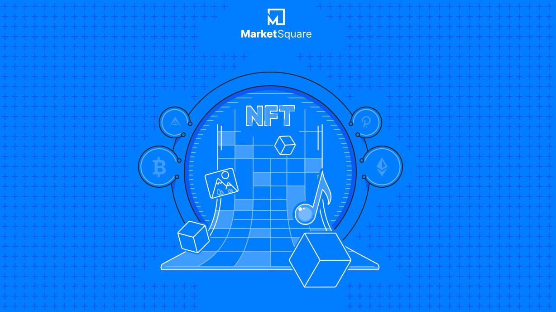 Let's Explore NFTs on MarketSquare! Banner