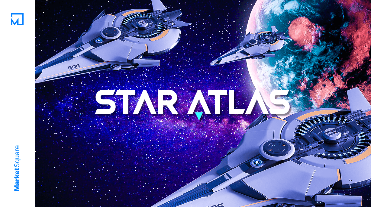 Own the Galaxy in Star Atlas Banner