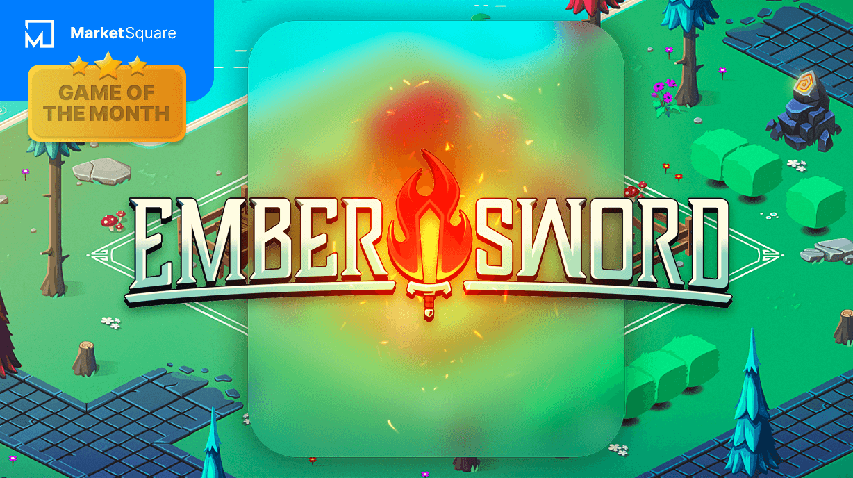Ember Sword is our Game of the Month! September 2021 Banner